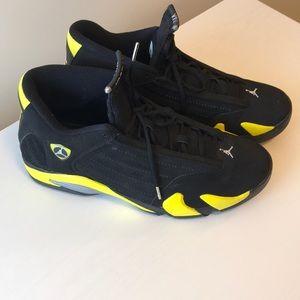 "Air Jordan Retro 14 ""Thunder"" Size 15"